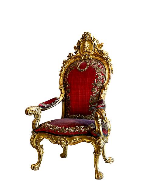 antique fancy chair